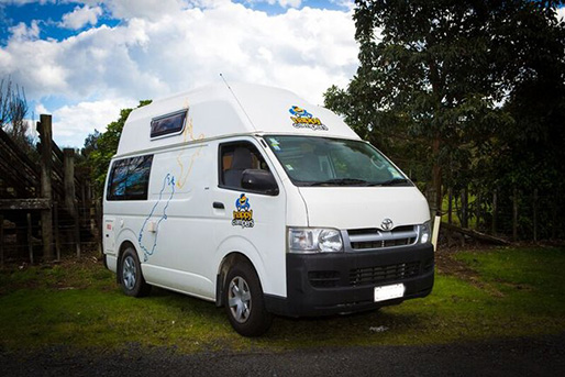 2 Berth  Motorhome rental in New Zealand from Happy Campers NZ