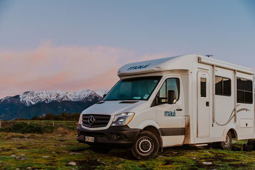4 Berth Maui Motorhome rental in New Zealand