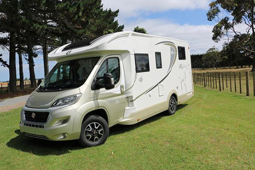 2 Berth  Motorhome rental in New Zealand from Walkabout