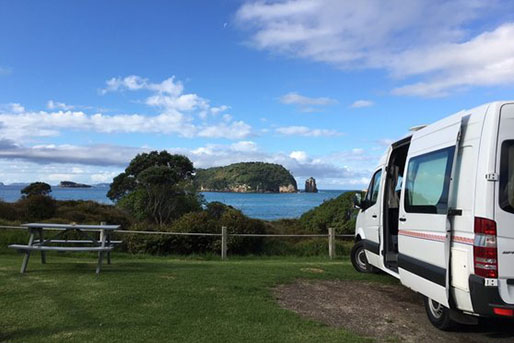 2 Berth  Motorhome rental in New Zealand from Pacific Horizon