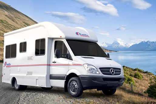 4 Berth Pacific Horizon Motorhome rental in New Zealand