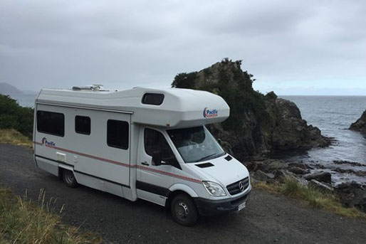 6 Berth Motorhome Rental from Pacific Horizon