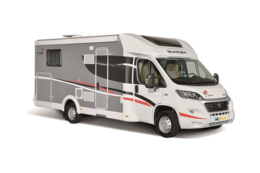 4 Berth McRent Motorhome rental in New Zealand from McRent