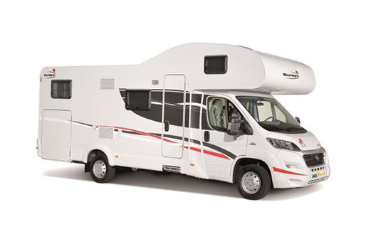 6 Berth McRent Motorhome rental in New Zealand from McRent