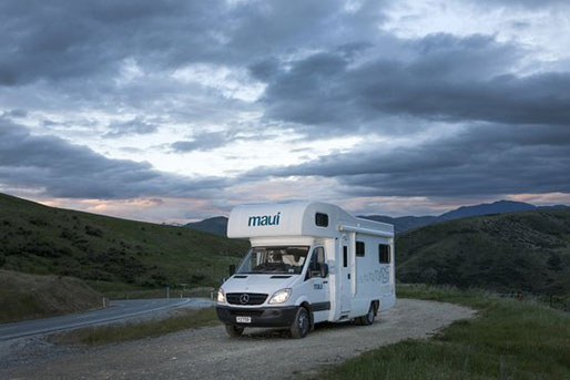 6 Berth Maui Motorhome rental in New Zealand
